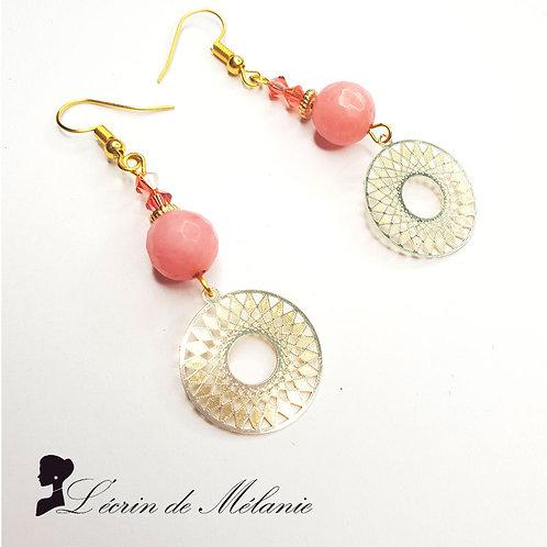 Boucles d'oreille - Minette