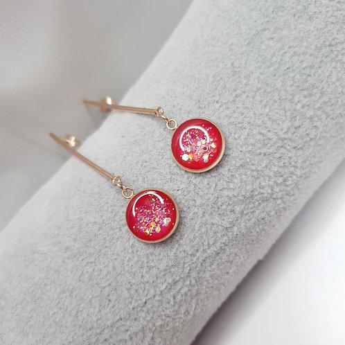 Boucles pendantes - Lina