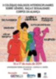 Cartaz II Coloquio Dialogos Interdiscipl