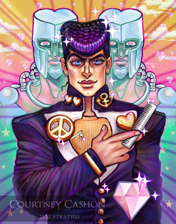 Josuke Higashikata - Double Diamond