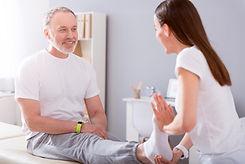 session de physiothérapie
