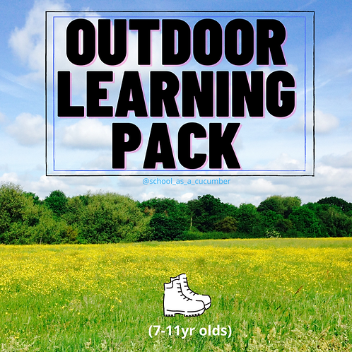 7-9yrs OUTDOOR learning pack
