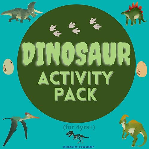 Dino activity pack
