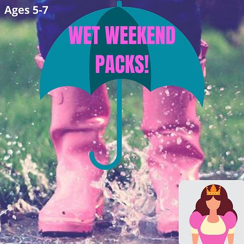 Princess (Age 5-7 years) Wet Weekend Pack