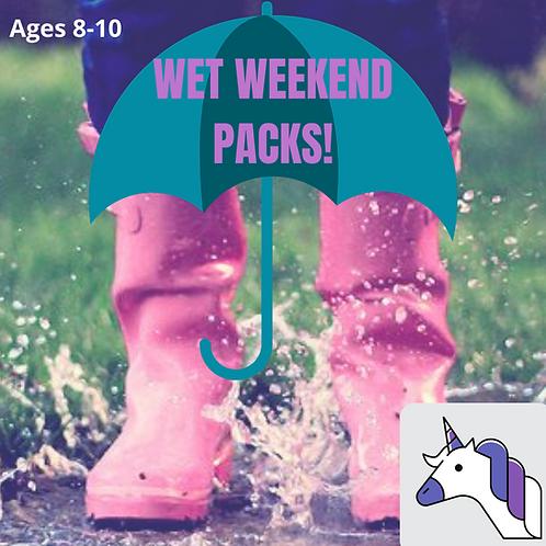 Unicorn (8-11yrs) Wet Weekend Pack