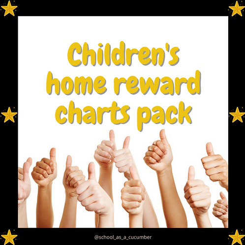 Home rewards chart pack