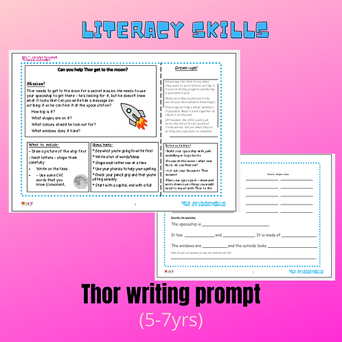 Thor writing prompt