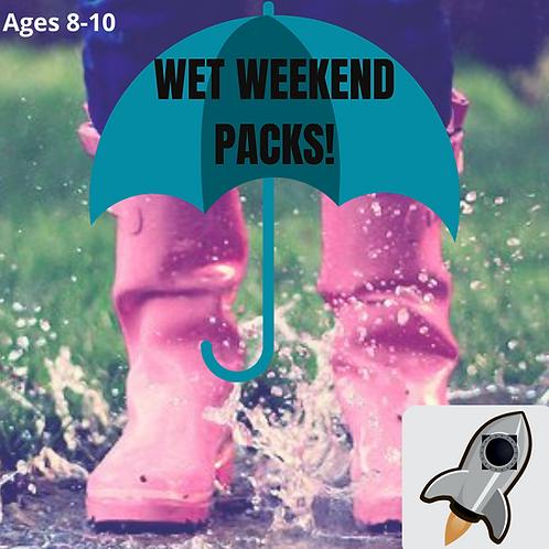 Spaceship (8-11 years) Wet Weekend Pack