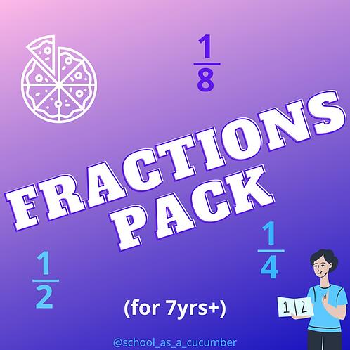 Fractions starter pack
