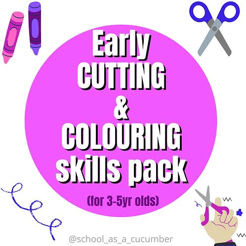 Early cut/colour skills