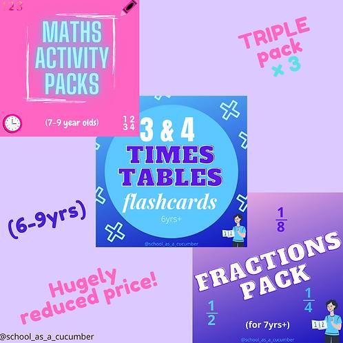 Maths bundle (6-9yrs)