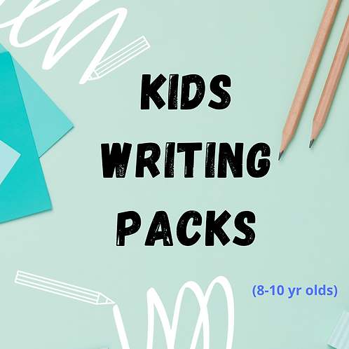 8-10 year olds Writing Pack