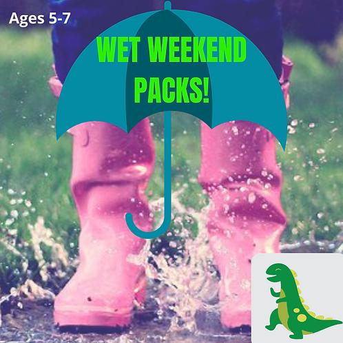 Dino (5-7 years) Wet Weekend Pack