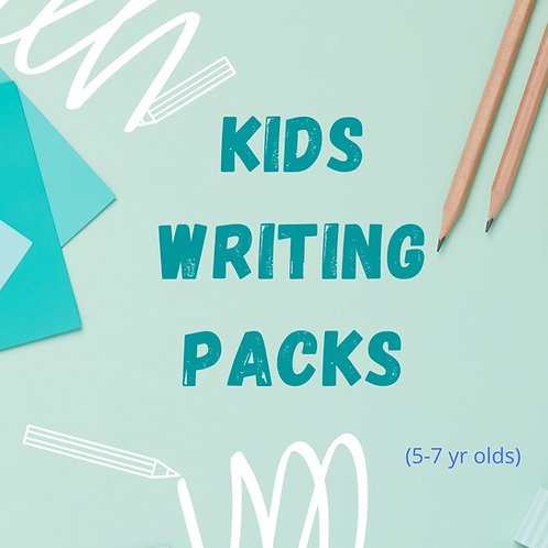 Boys (Age 5-7 years) Writing Pack