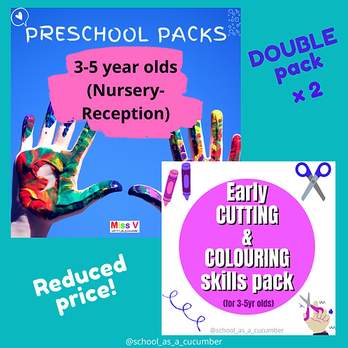 4-5yrs combo pack