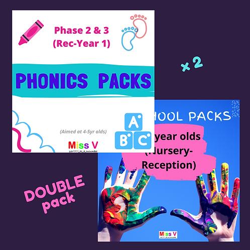 Phonics & Preschool combo