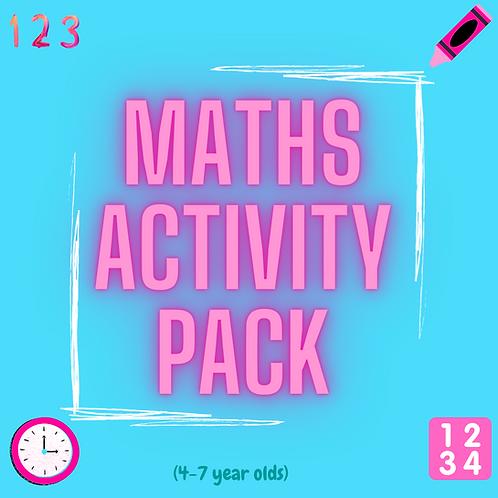 4-7yrs MATHS pack