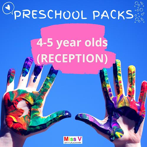 4-5yrs Preschool Pack