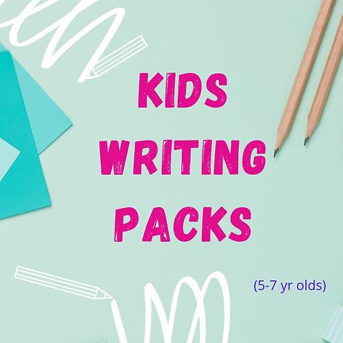 Girls (Age 5-7 years) Writing Pack