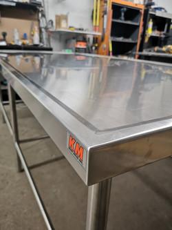 Kitchen table marine edge