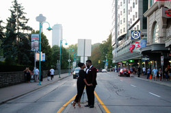 Engagement photographers in Niagara
