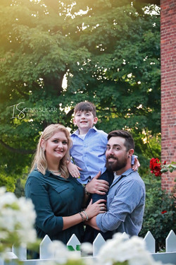 Niagara family portraits