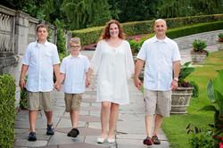 Niagara falls family photo