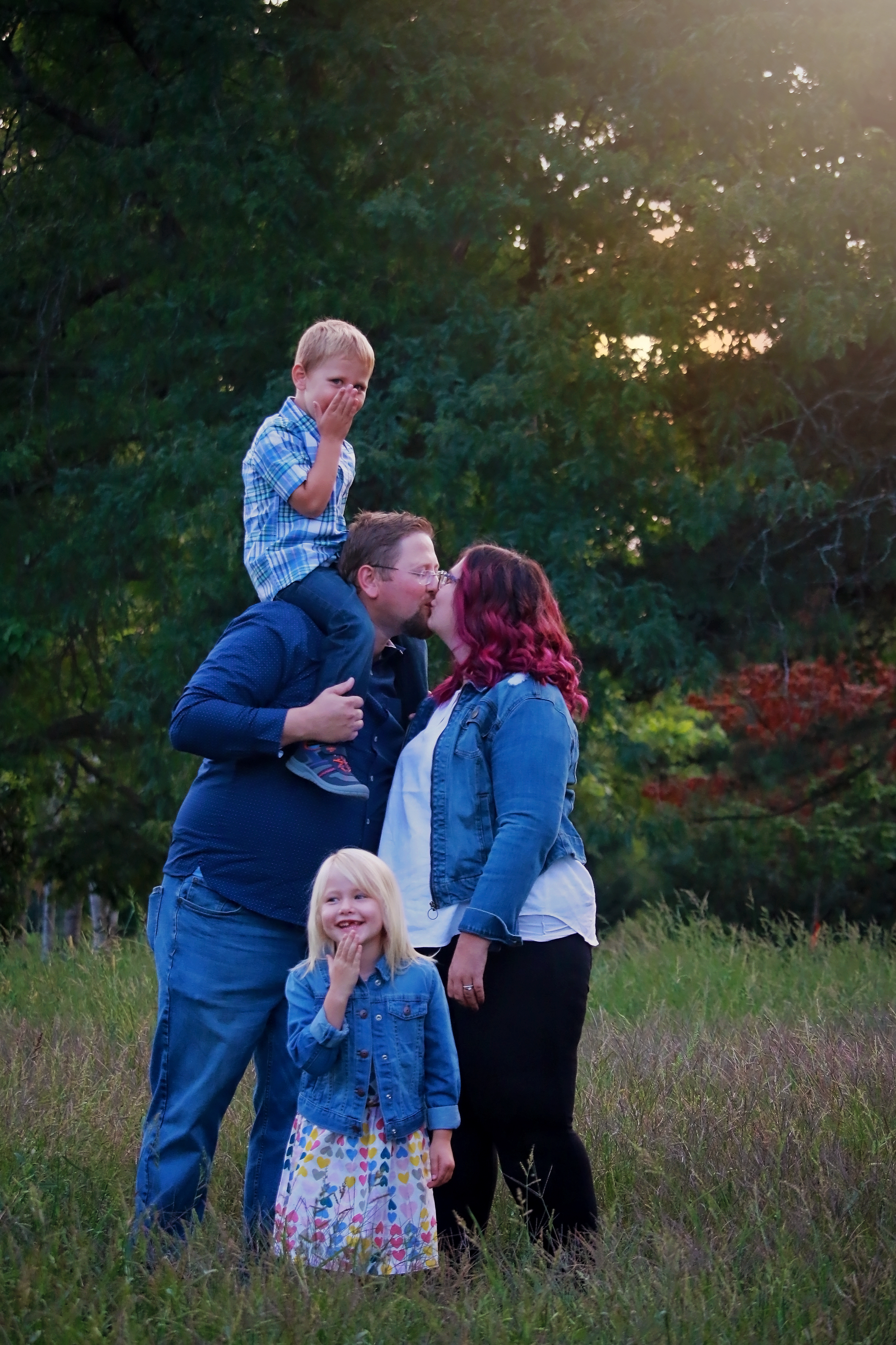 Niagara family portrait photography
