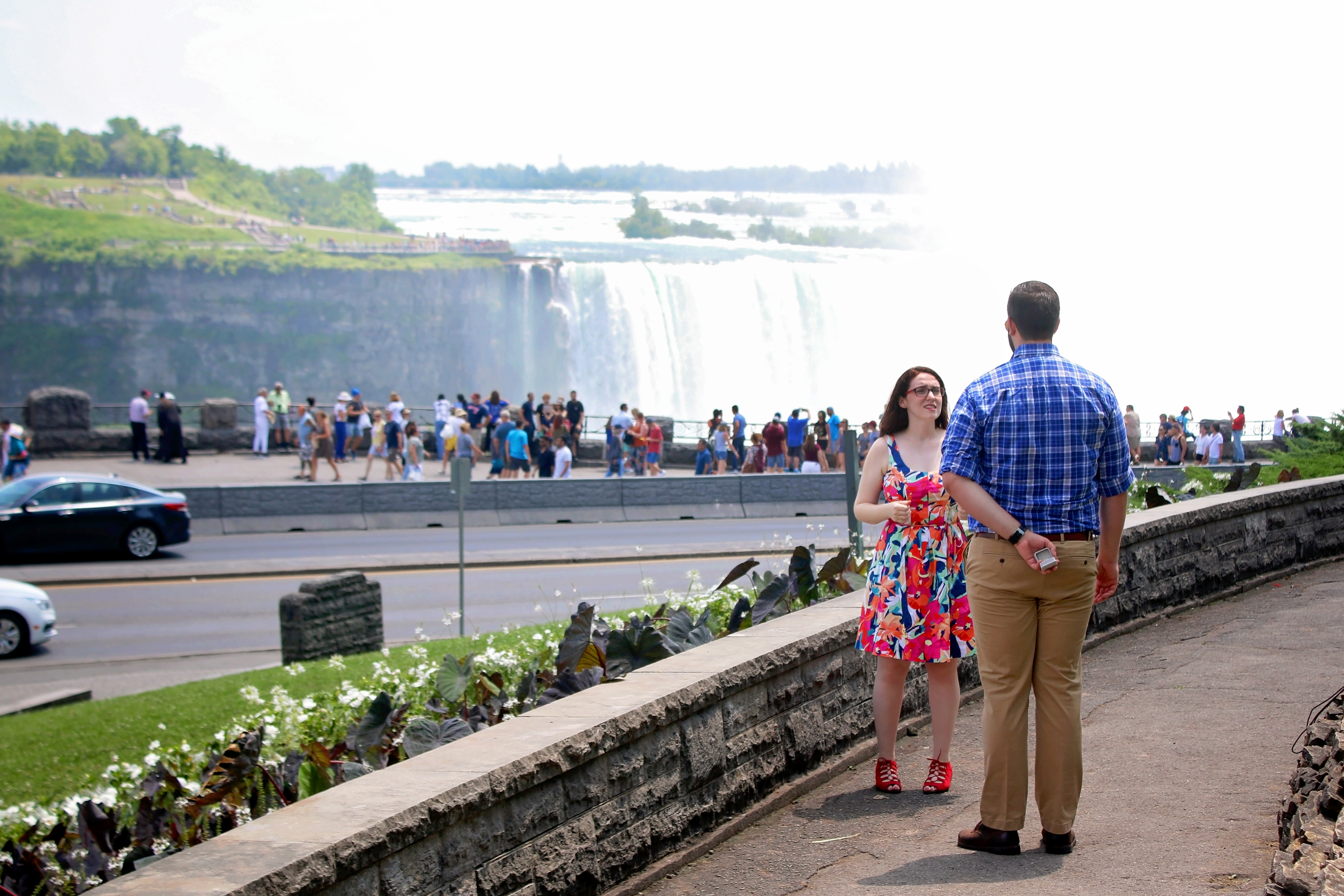 Niagara engagement photos
