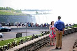 Niagara engagement photos