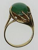 Antique jade ring