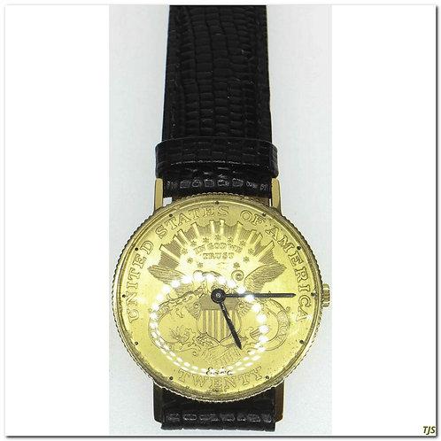 Vintage Gold Swiss Watch