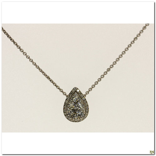 Gold Diamond Pendant Gold Diamond Pendant