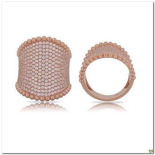 Rose Gold & Diamond Ring