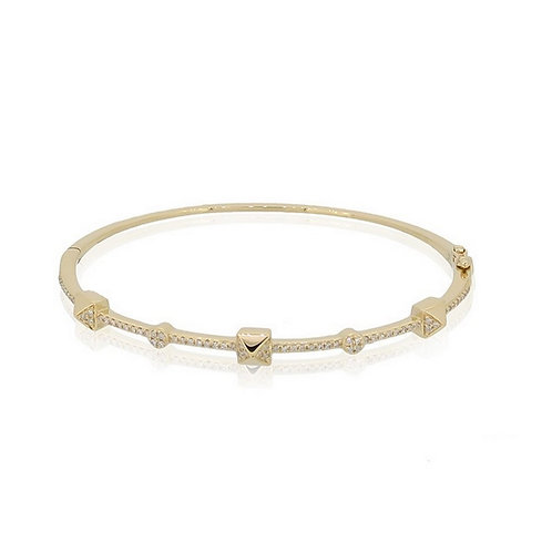 Gold Diamond Bracelet
