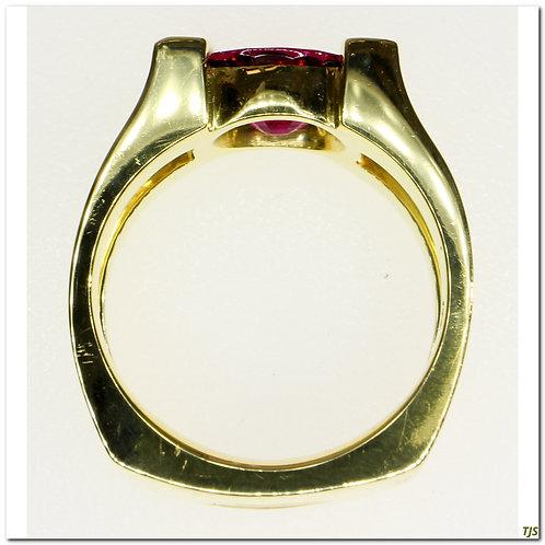 Gold Tourmaline Ring