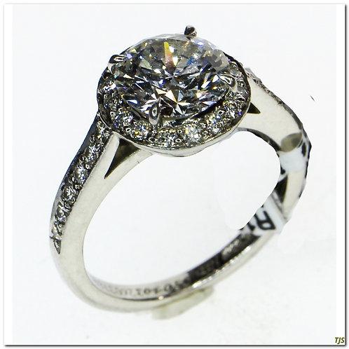 Tiffany Platinum Diamond Ring