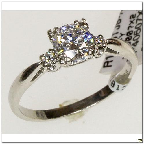 Platinum & Diamond Art Deco Ring