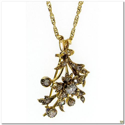 Victorian Diamond Pin