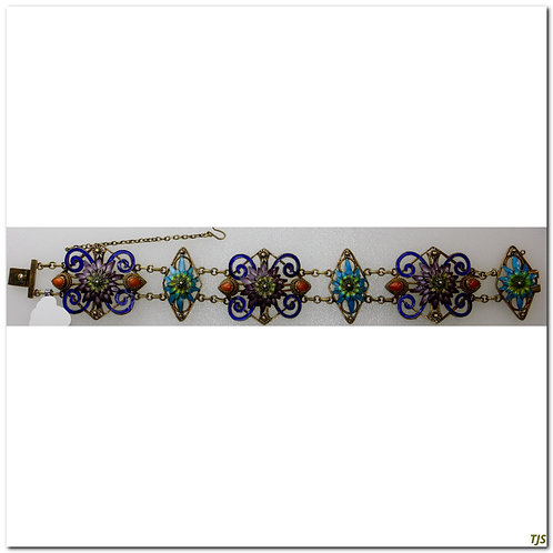Silver Chinese Bracelet