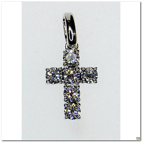 Diamond Pendant Cross