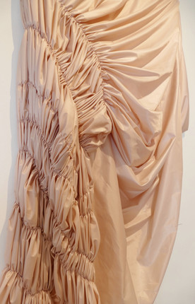 Detail Shot of Ruched Sleeve. 2020.