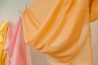 Detail Shot of Citrus Drape, 2020.