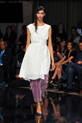 NY Fashion Week Spring/Summer Collection Sponsored by ELLE