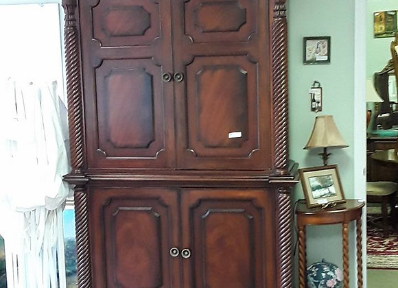 Spiral Detail Large Armoire