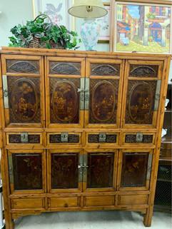 HandPaintedCarvedwoodTibetan cabinet.jpg