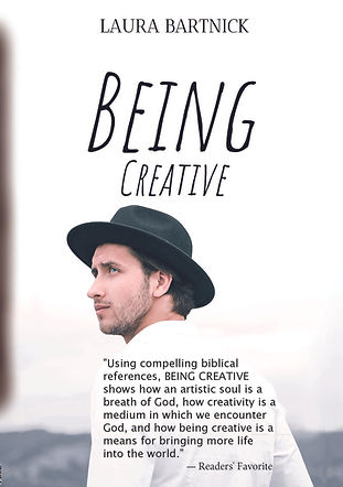 Being Creative Paperback front endorse T