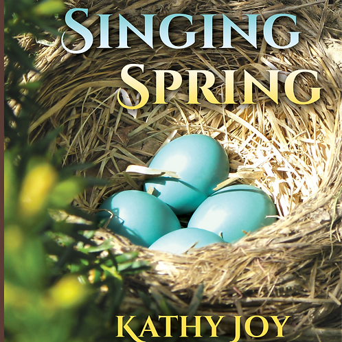 Singing Spring is a Breath of Joy gift book - wrapped and shipped