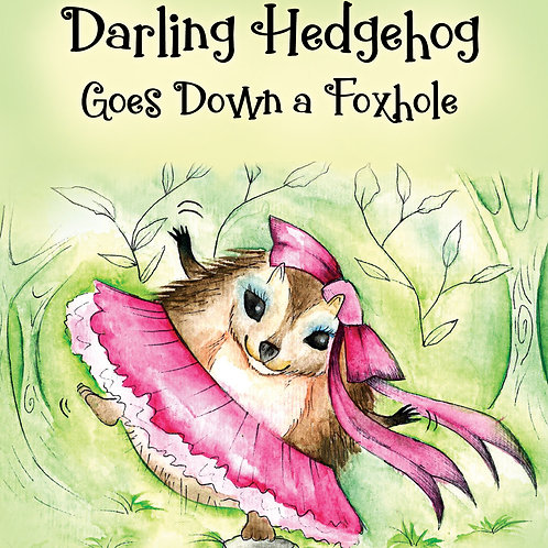 Darling Hedgehog - gift wrapped and shipped