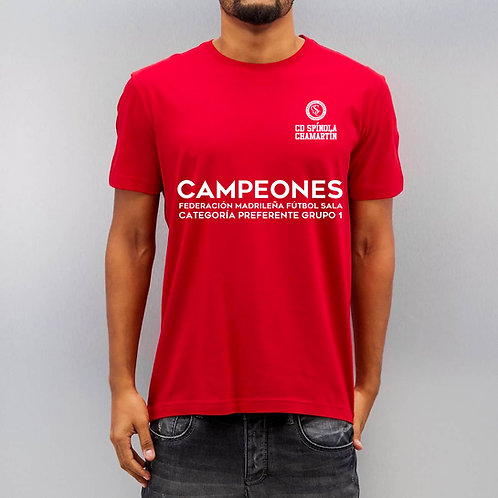 Camiseta - Campeones Futbol Sala - Preferente